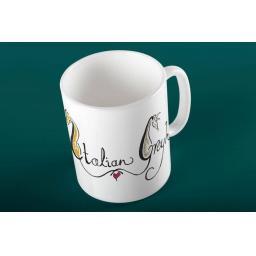 Italian Greyhound 11oz mug