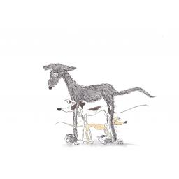The Ladder - A4 print by Nellie Doodles