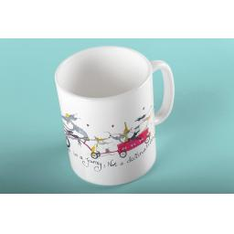 Happiness is a journey - water bottle, thermal mug or 11oz mug