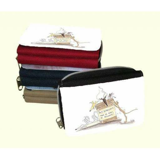 Happiness is a Journey or 3 other designs - zipped canvas purse