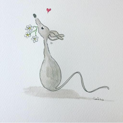 Spring is here - Nellie Doodles A4 print