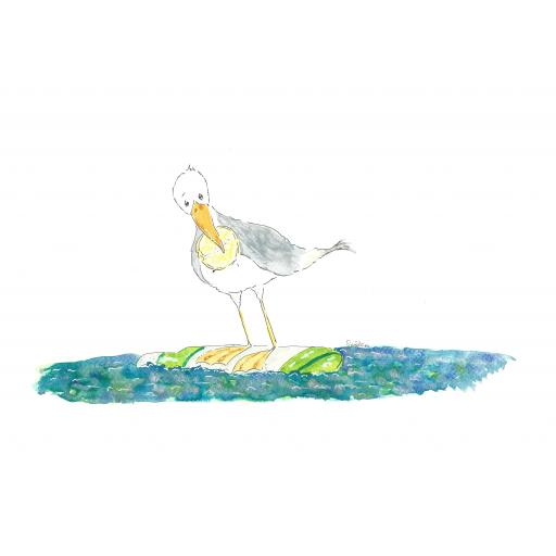 Nellie Doodles - The Gull, the Gin and the Lemon