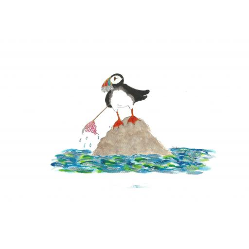 Nellie Doodles - How to catch fish by the Puffin