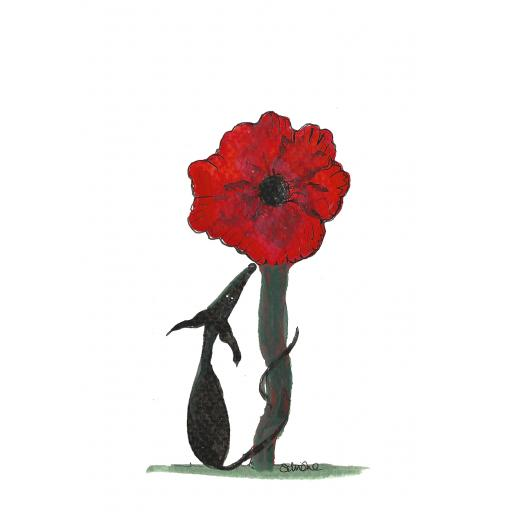 Lest we forget - A4 print, A5 or A6 blank card