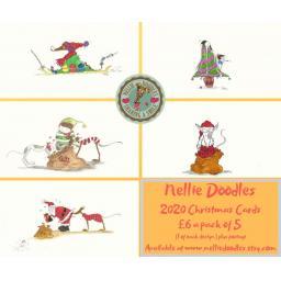 Nellie Doodle 2020 Christmas Cards.jpg