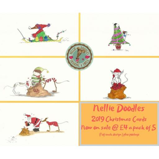 2019 Christmas Cards - pack of 5