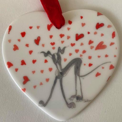 Valentine's Ceramic Drops